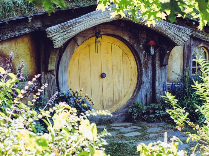 Spaziergang durch das Hobbiton