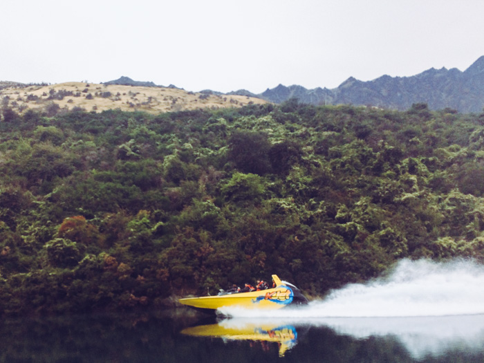 Jetski fahren in Neuseeland