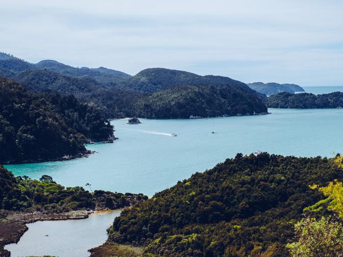 Wanderung durch den Abel Tasman Nationalpark