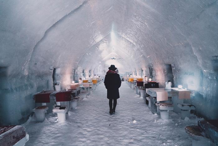 Eishotel in Rumänien