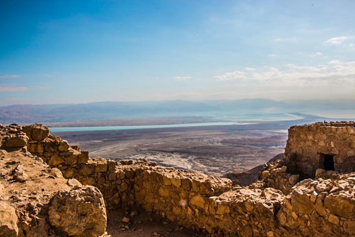 Die Felsenfest Masada gehört zu den Israel Reisetipps dazu