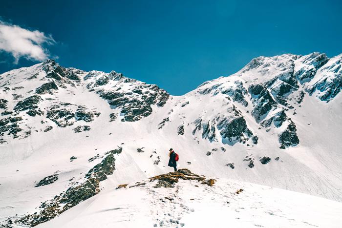 Skigebiet-Rumänien