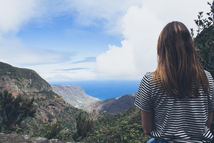 Die Aussichtspunkte auf La Gomera sind ein Traum.