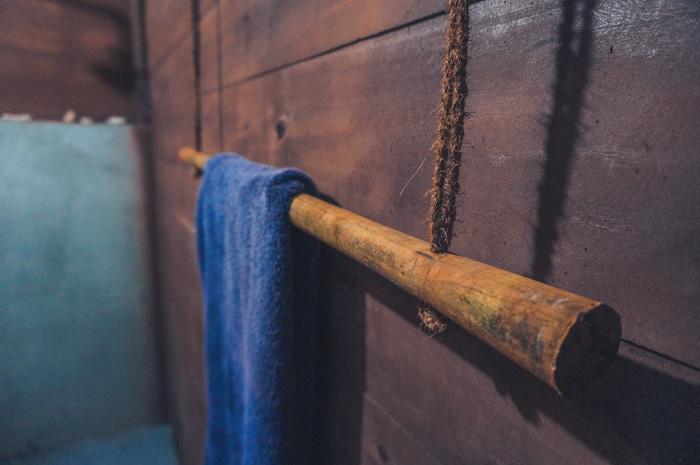 Handtuchhalter a la Sri Lanka