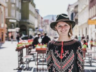 Christine Neder in Bukarest