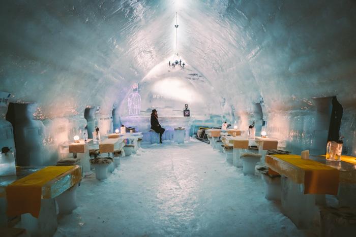 Eishotel in Rumaenien