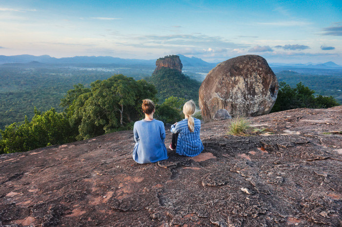 Ausblick vom Pindurangala Rock