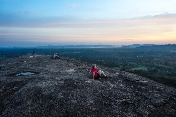 Magischer Sonnenaufgang Sri Lanka