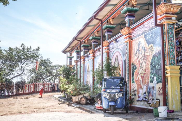 Sri Lanka Backpacking Tempel Trinco