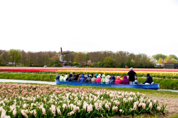 Holland im Frühling - Fluisterboot