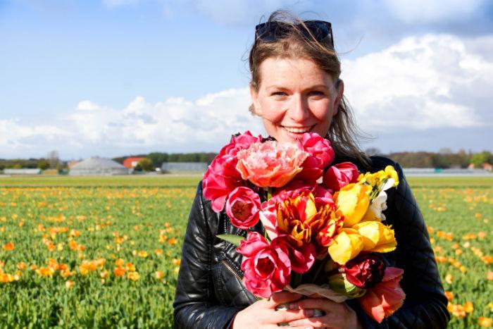 Holland im Frühling - Tulpenstrauß