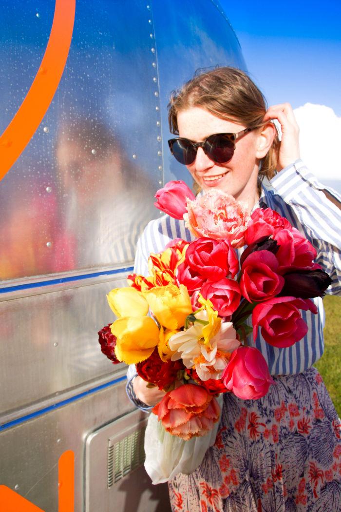 Holland im Frühling - Tulpenmädchen