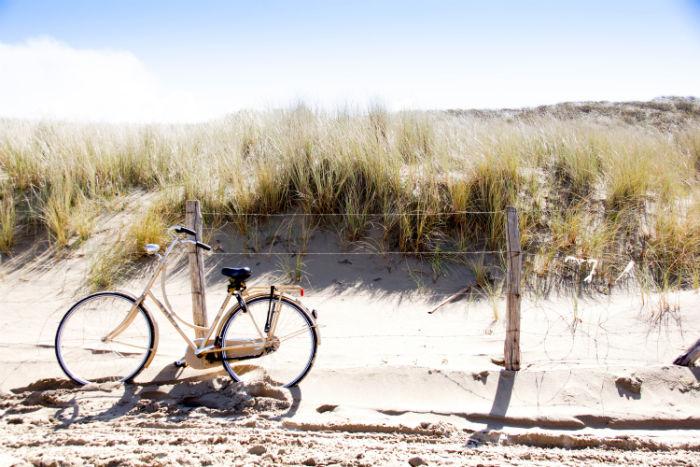 Holland im Frühling - Radtour durch die Dünen