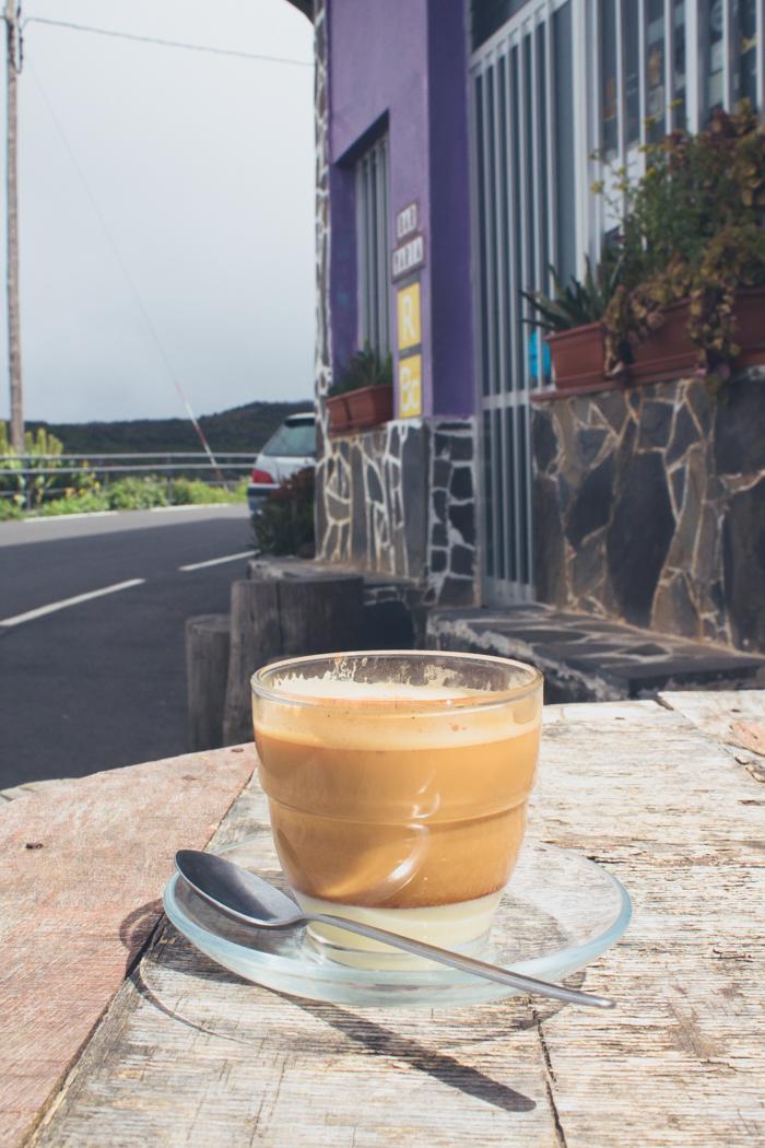 Barraquito trinken auf La Gomera