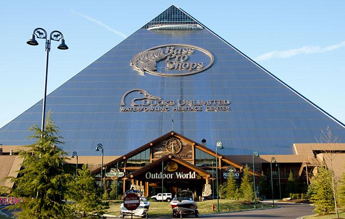Die Pyramide in Memphis