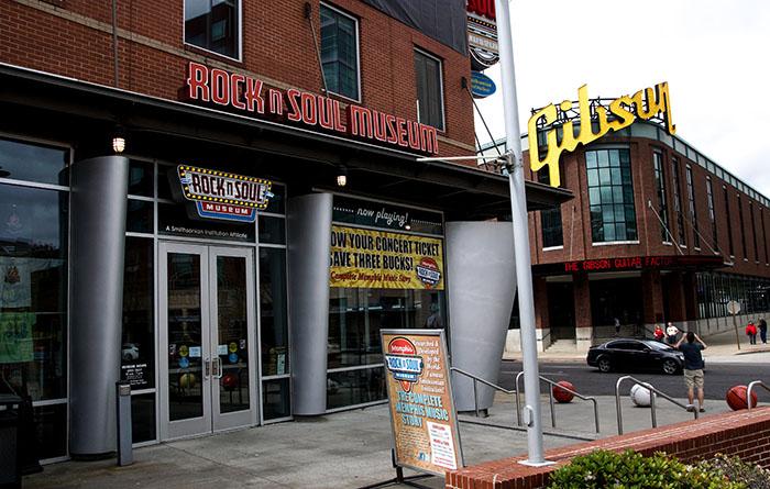 Rock'n'Soul Museum in Memphis