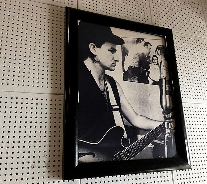 Bono im Sun Studio