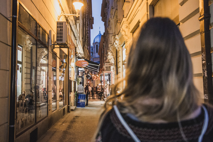 Nachtleben in Bukarest