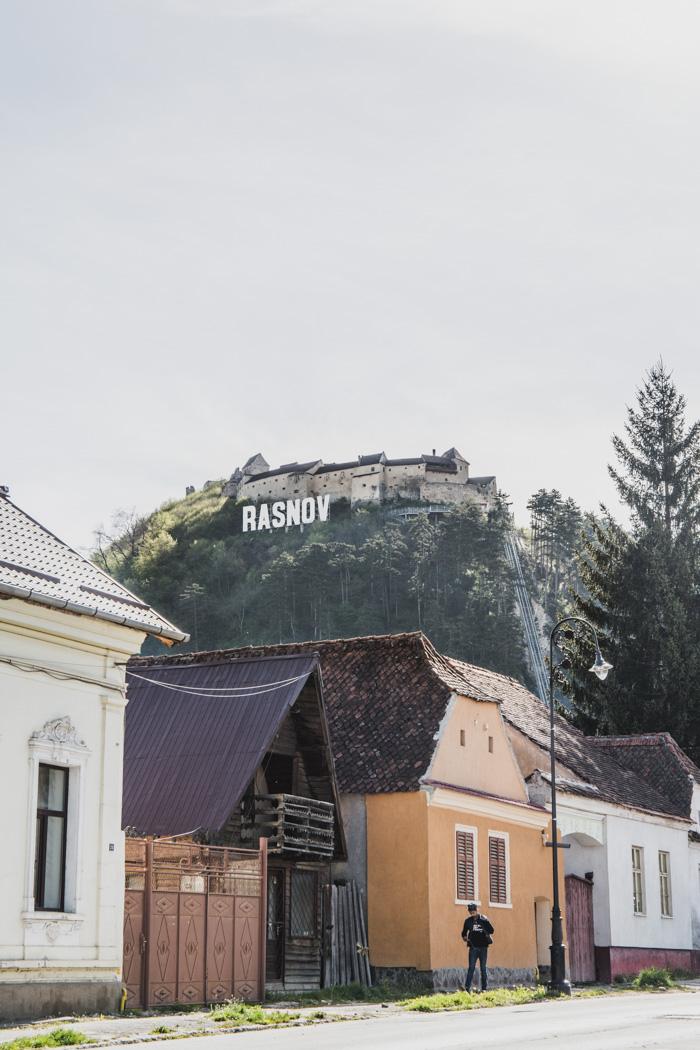 Namensschild in Rasnov