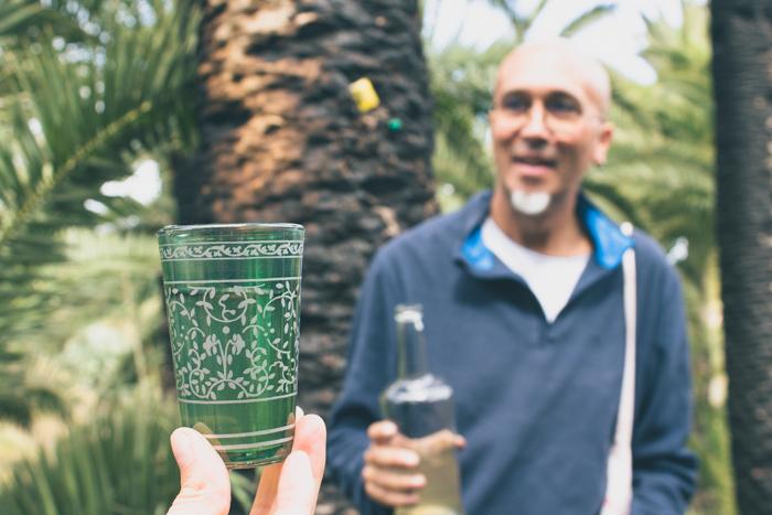 Der Saft der Palme kann auf La Gomera auch getrunken werden.
