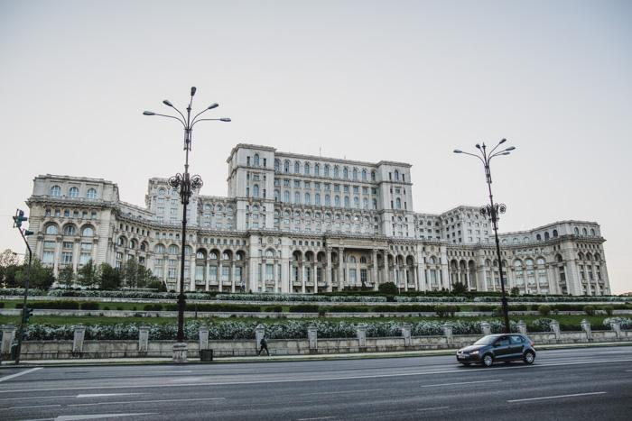 Parlamentsgebaeude Bukarest