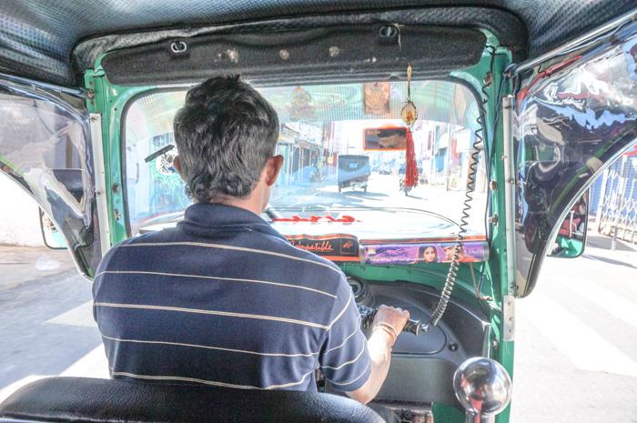 Tuk Tuk Fahrt durch Sri Lanka