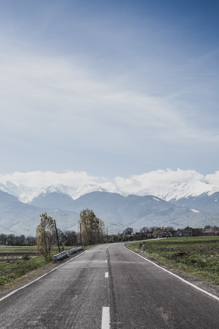 Straßenszene in Rumänien