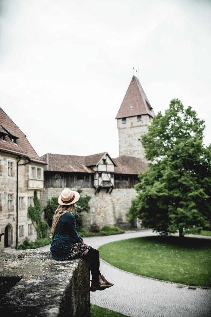Christine Neder in Franken