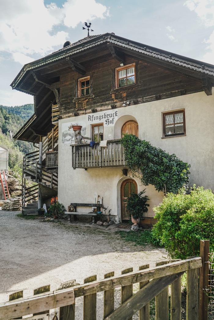 Afingsbruckhof im Sarntal