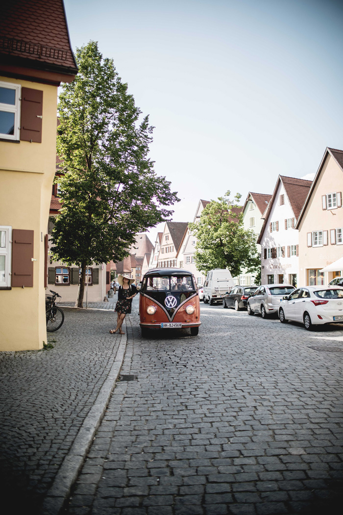 VW Bus in Dinkelsbühl