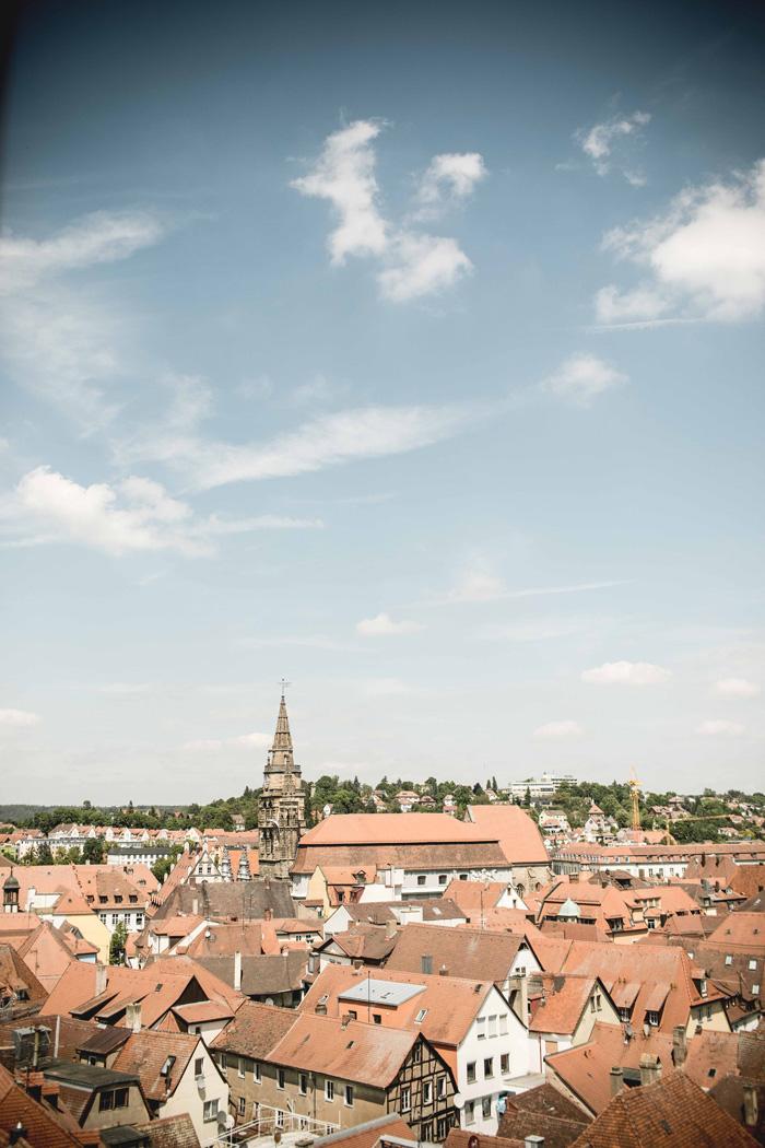 Ansbach von oben
