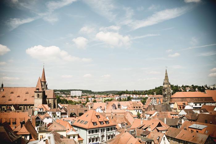 Aussicht Ansbach