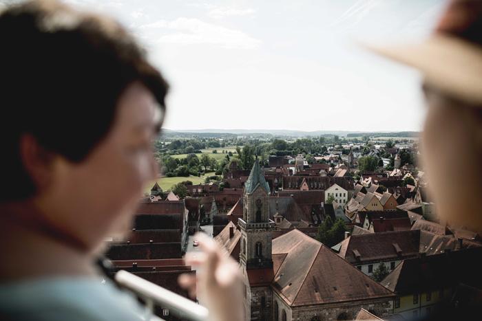 Aussicht vom Georg Turm