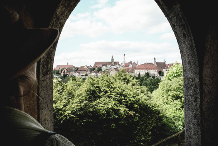 Aussicht Rothenburg