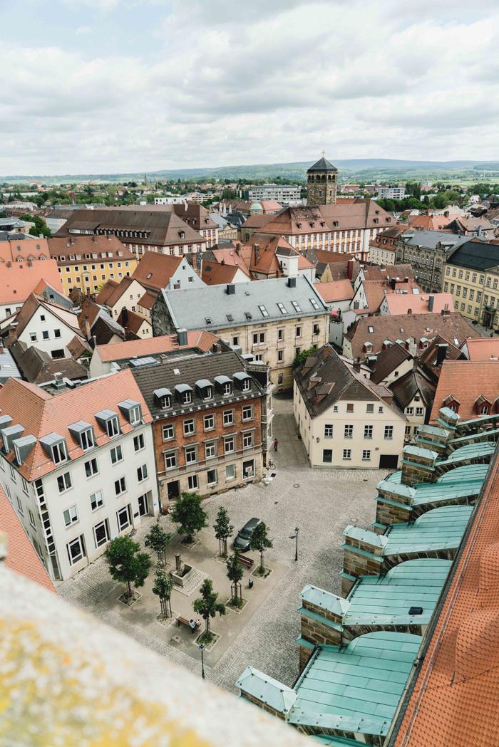 Aussicht auf Bayreuth