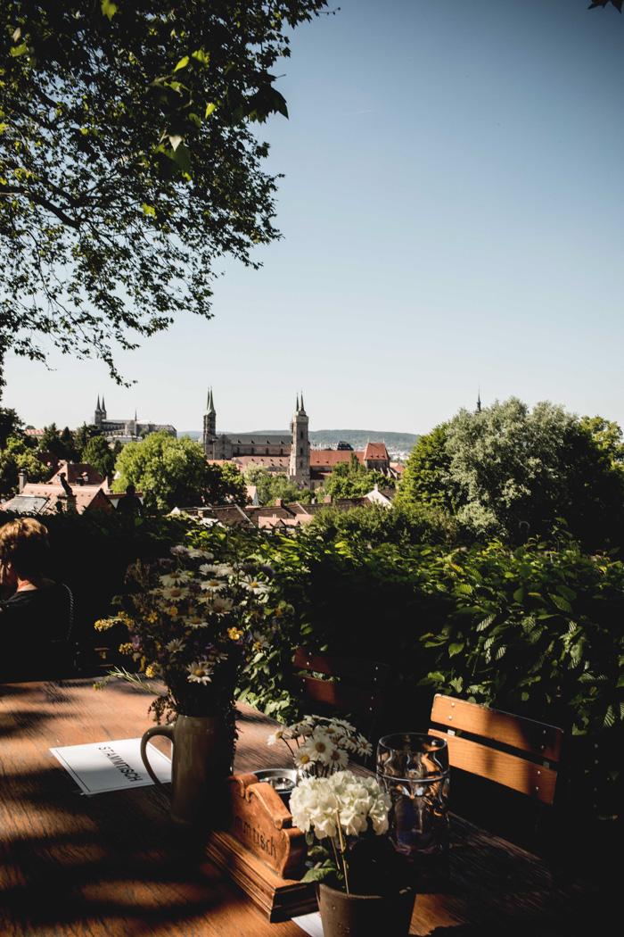 Aussicht über Bamberg