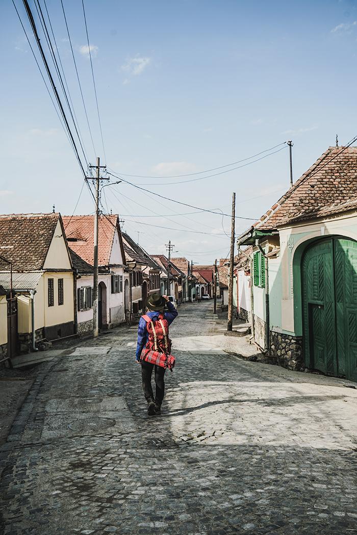 Bauerndorf in Rumaenien