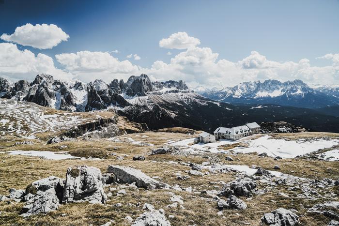 Bergmassiv Schlerngebiet