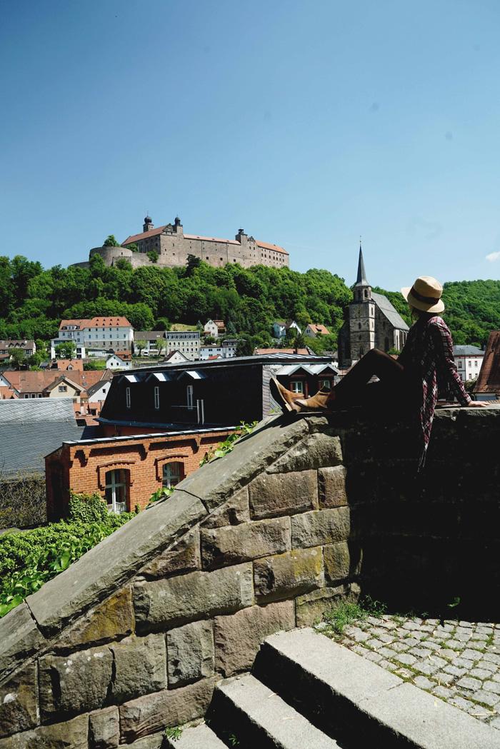 Blick auf Plassenburg