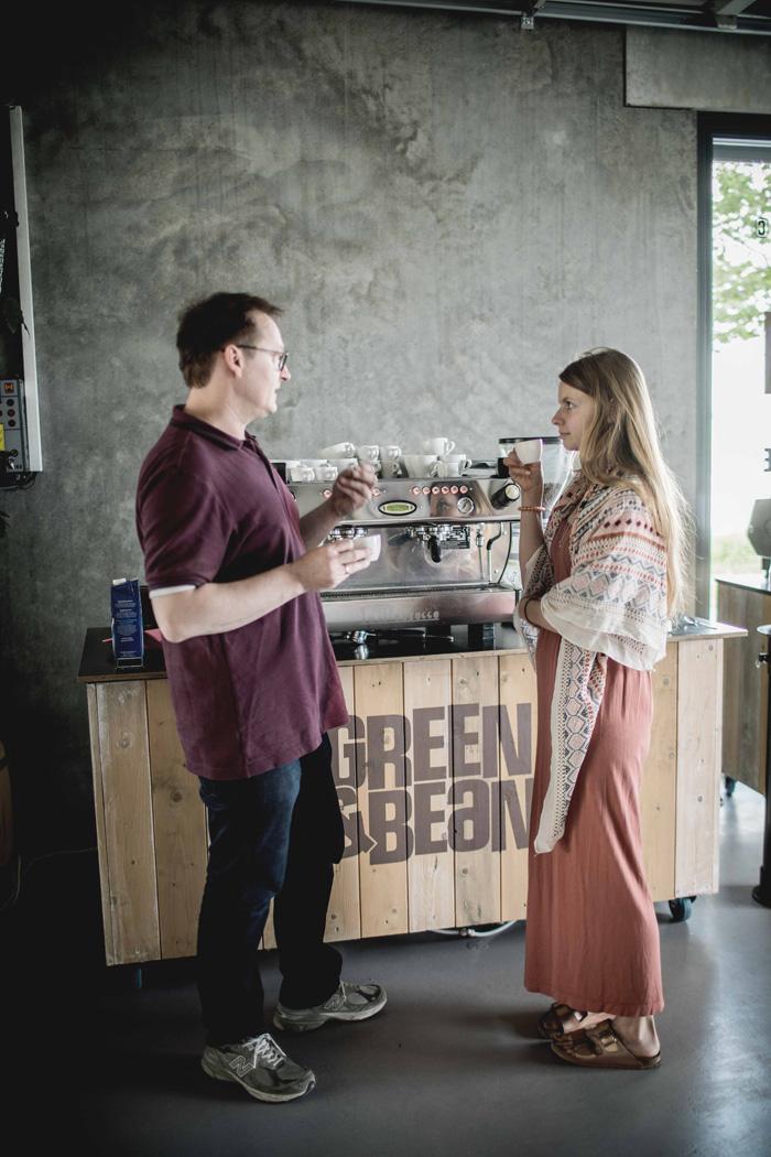 Christine Neder beim Kaffeeseminar