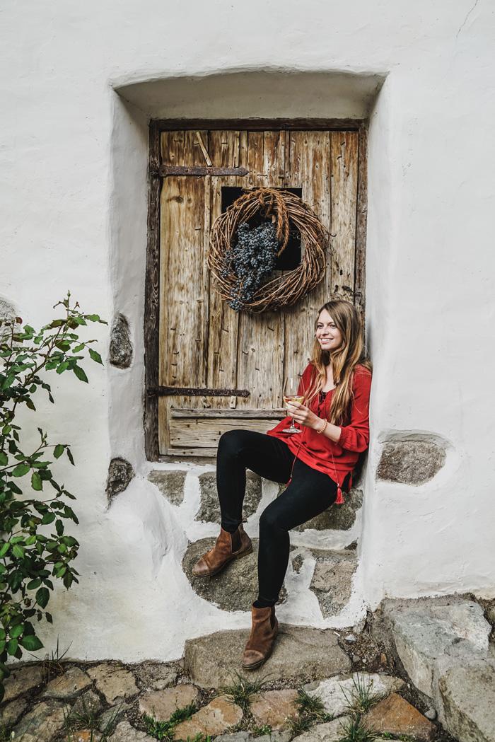 Christine Neder im Wassererhof