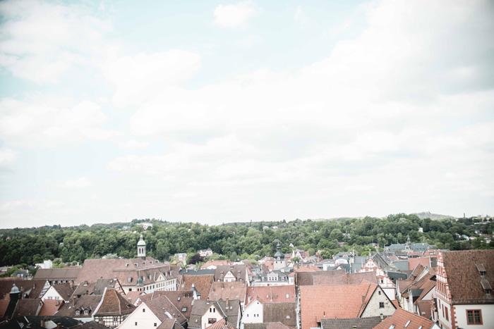 Coburg von oben