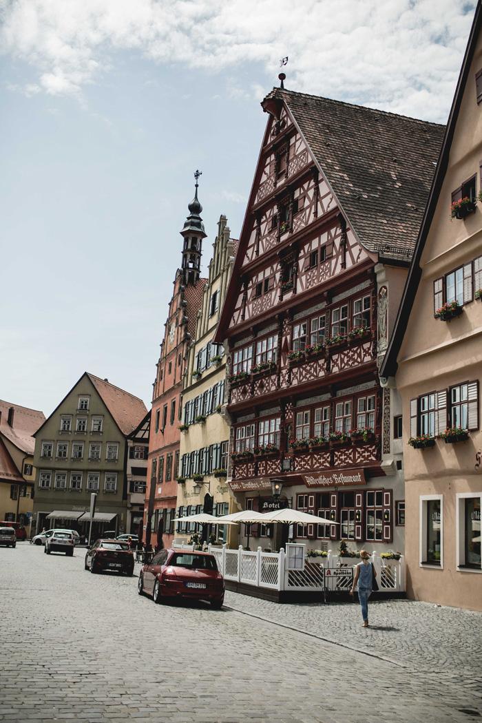 Fachwerkhaus in Dinkelsbühl