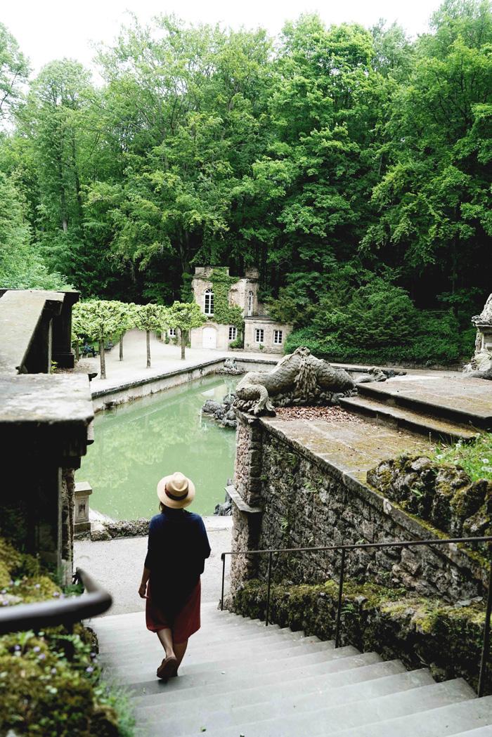 Eremitage Untere Grotte Bayreuth