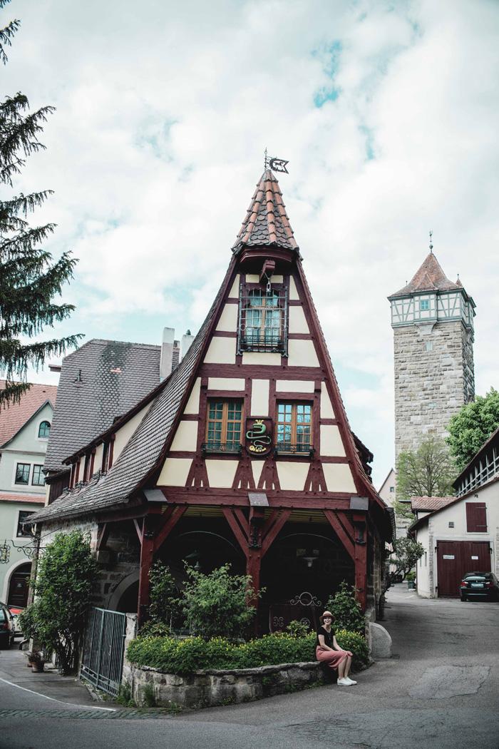 Fachwerk Rothenburg