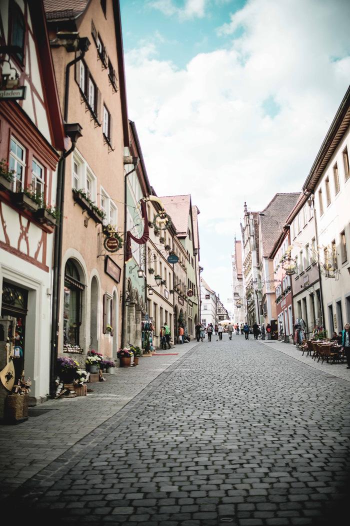 Fachwerkstraße Rothenburg
