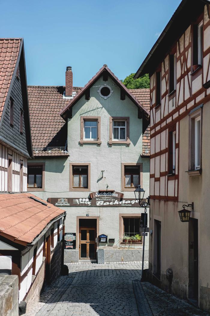 Gassen von Kulmbach