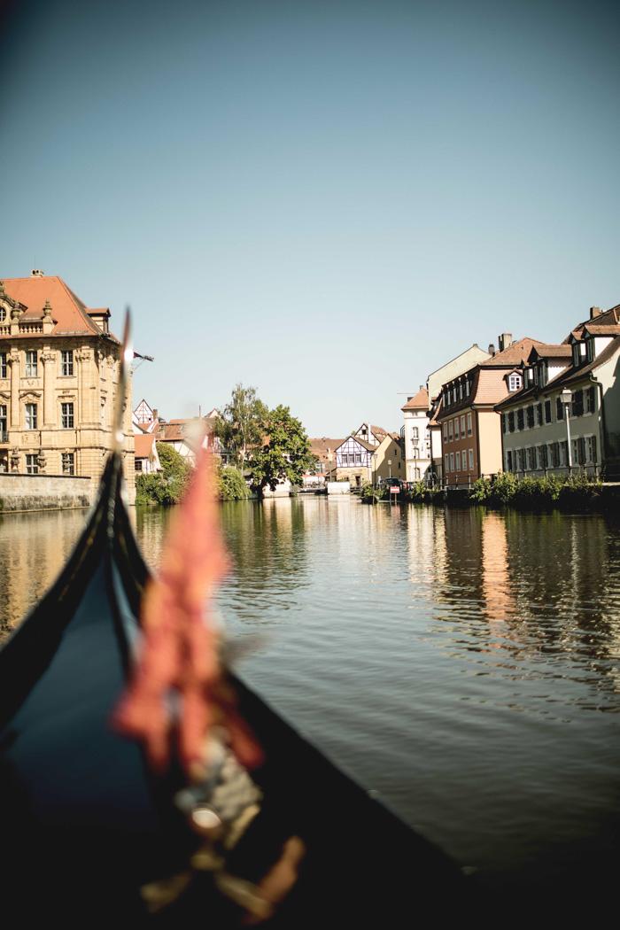 Gondelfahrt Bamberg Kanal