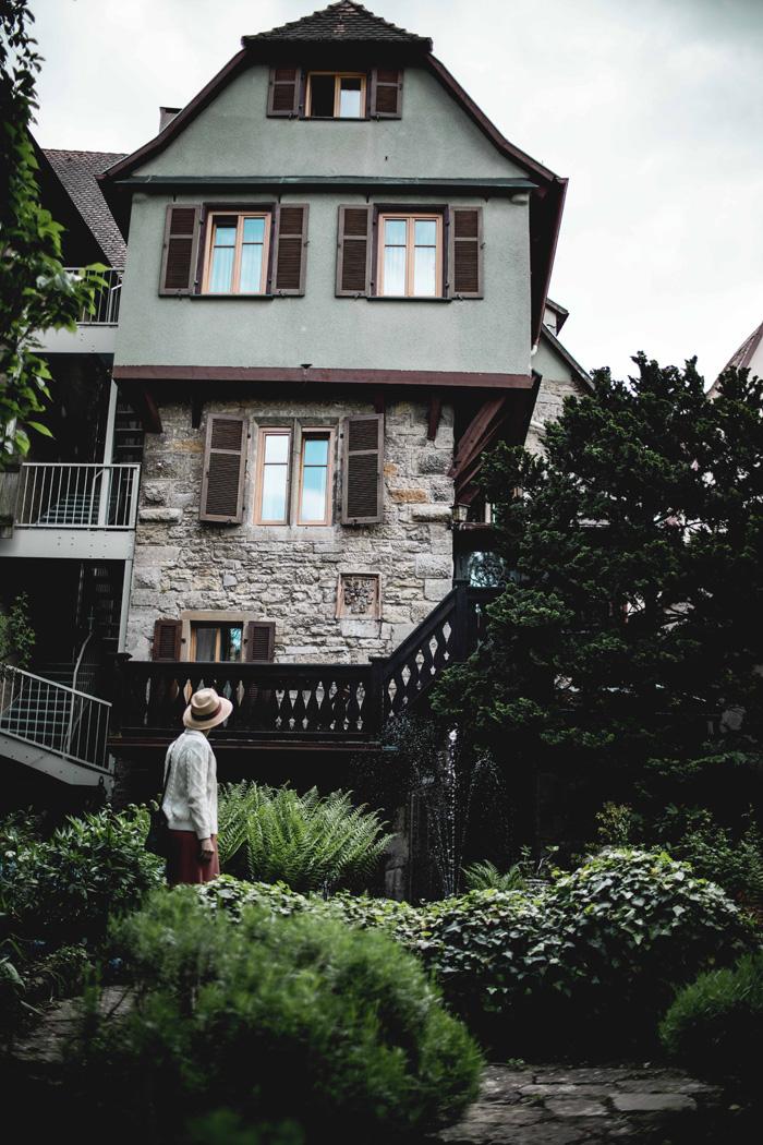 Hinterhof in Rothenburg