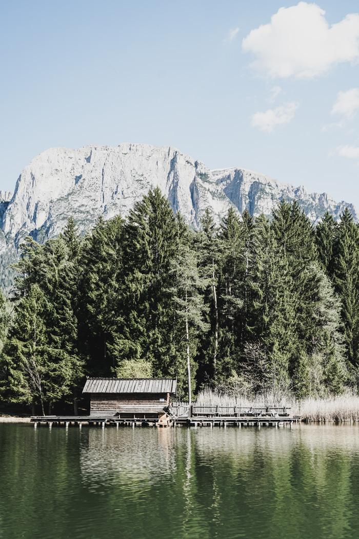 Berghütte am Schlern